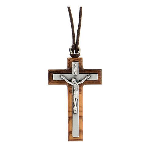 Pendente crocifisso argentato 1