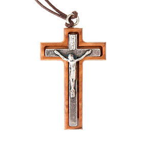 Silver-plated cross pendant s2
