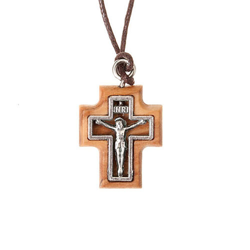 Carved cross pendant 1