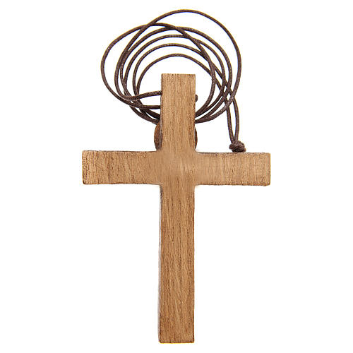 Kruzifix Holz Bethlèem 2