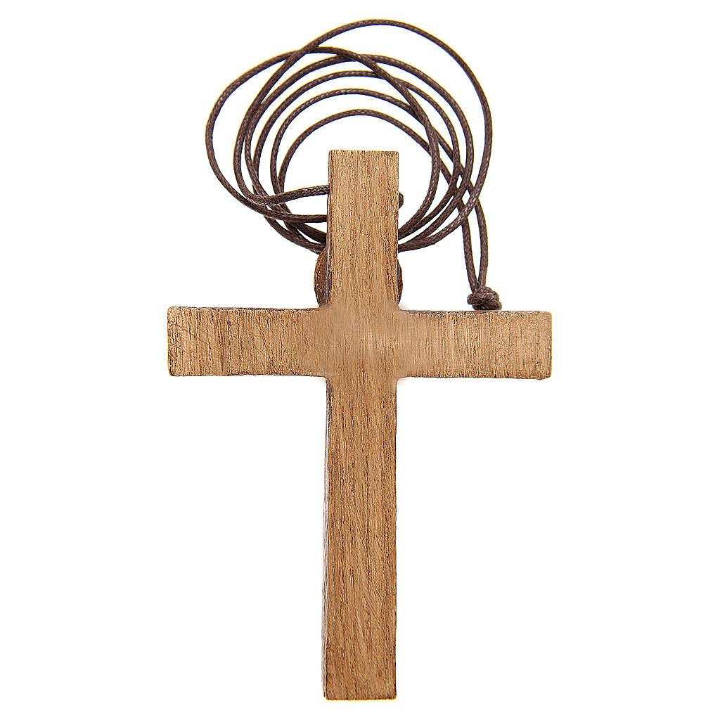 Crucifijo pectoral madera de Betlem 4
