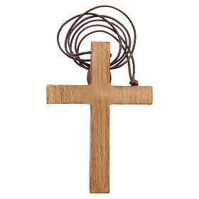 Crucifijo pectoral madera de Betlem s7