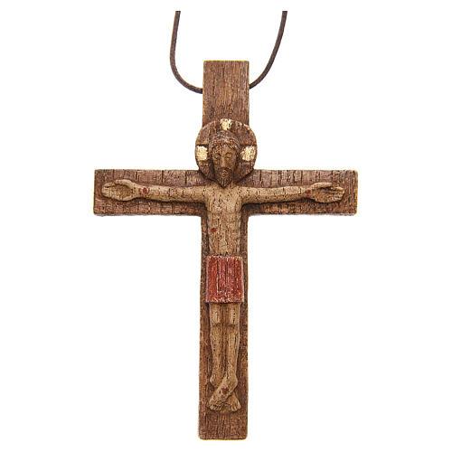 Crucifijo pectoral madera de Betlem 1