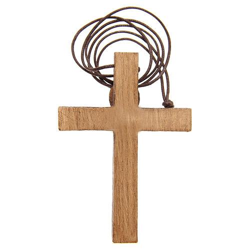 Crucifijo pectoral madera de Betlem 2