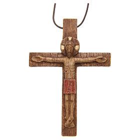 Crocifisso pettorale legno Bethléem s6