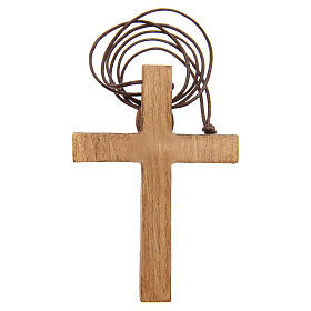 Crocifisso pettorale legno Bethléem s7