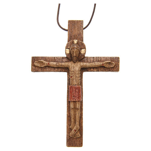 Crocifisso pettorale legno Bethléem 6