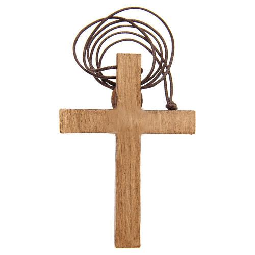 Crocifisso pettorale legno Bethléem 7