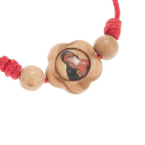 Colgante olivo icono Virgen 2