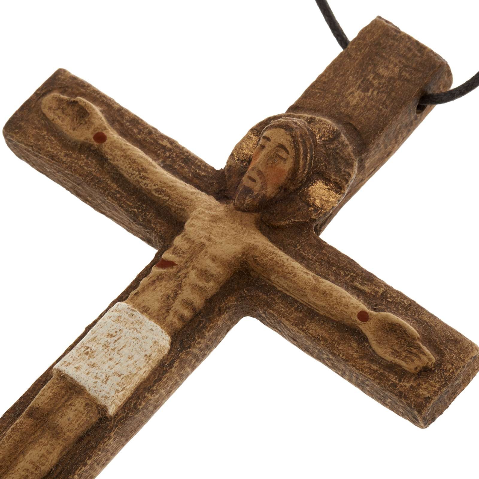 Crucifijo pectoral de madera, Monasterio Bethléem 4