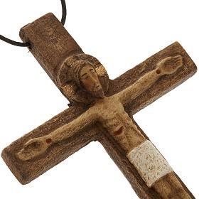 Crucifix pectoral bois monastère de Bethléem s2