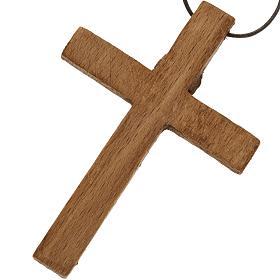 Crucifix pectoral bois monastère de Bethléem s5