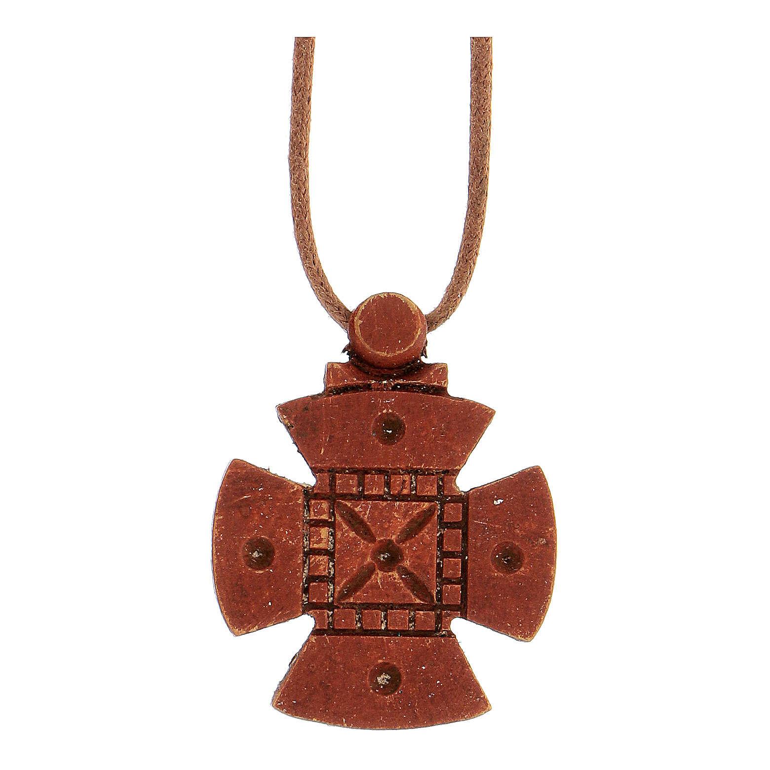 Kreuz von Malta aus Holz Bethleem 4