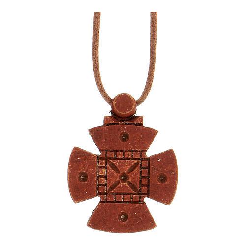 Kreuz von Malta aus Holz Bethleem 1
