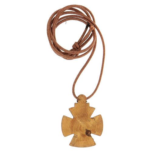 Kreuz von Malta aus Holz Bethleem 2