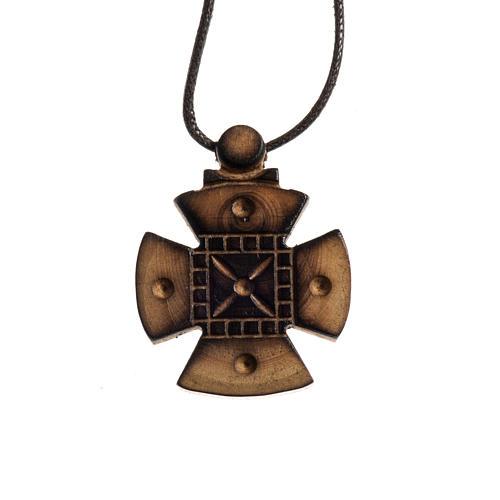 Croce di Malta legno Bethléem 1