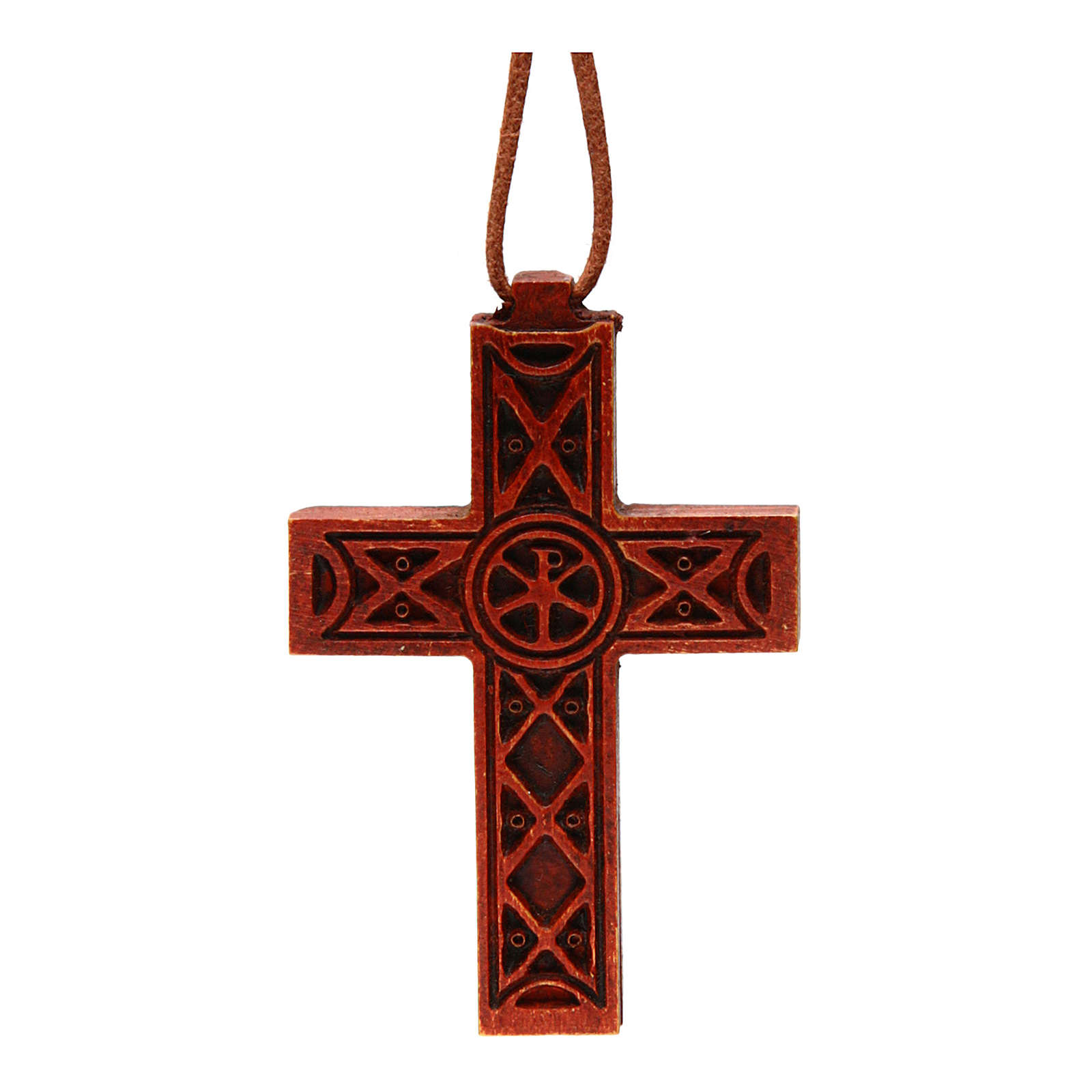 Traditional cross in Bethleem wood 4