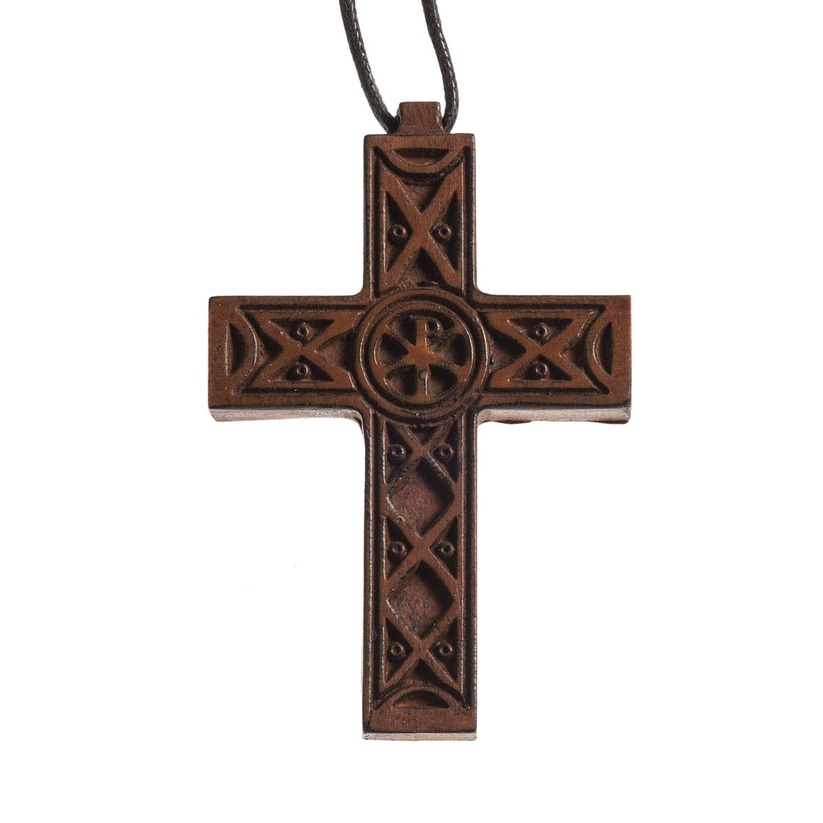 Croce tradizionale legno Bethléem 4