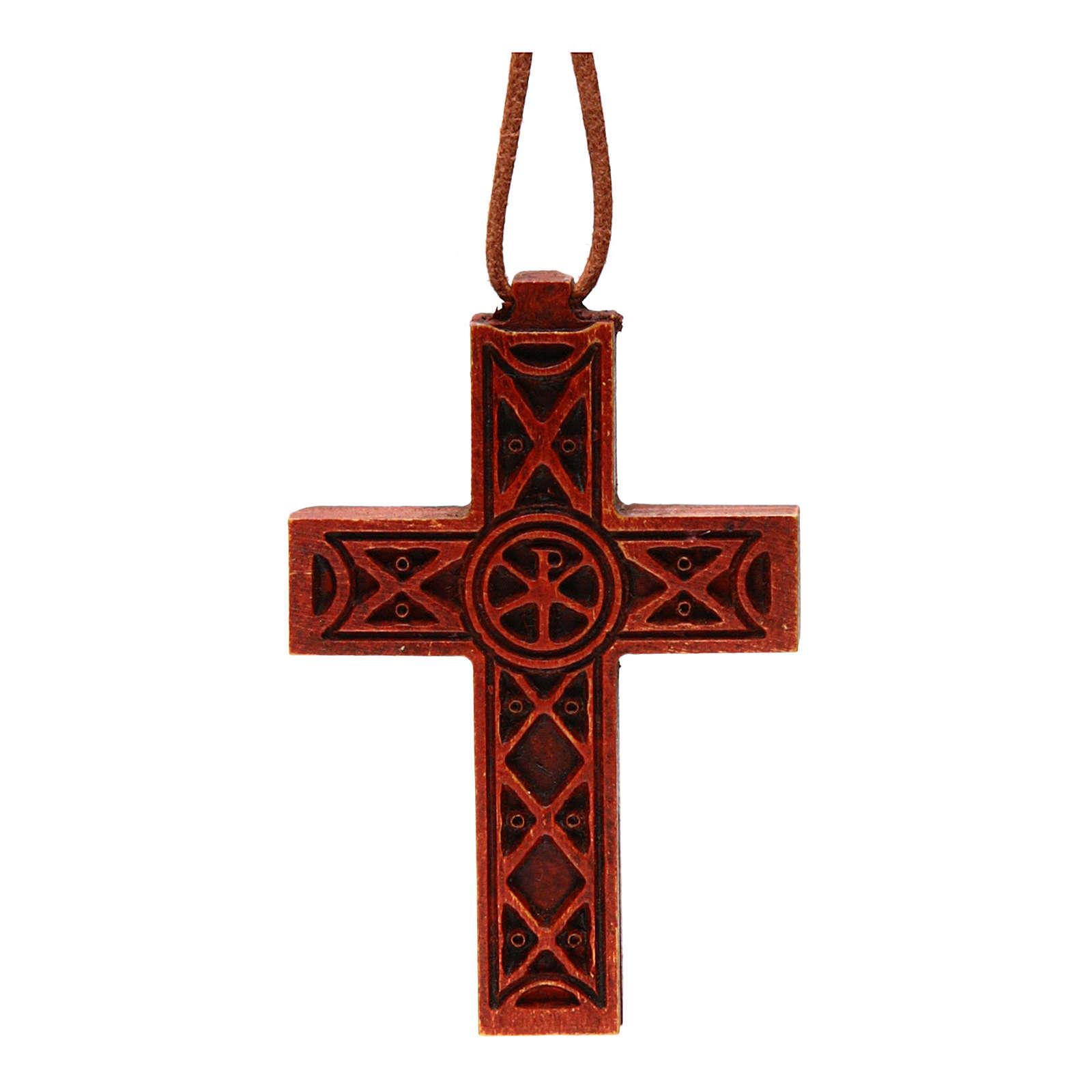 Traditional cross in Bethleem wood 4
