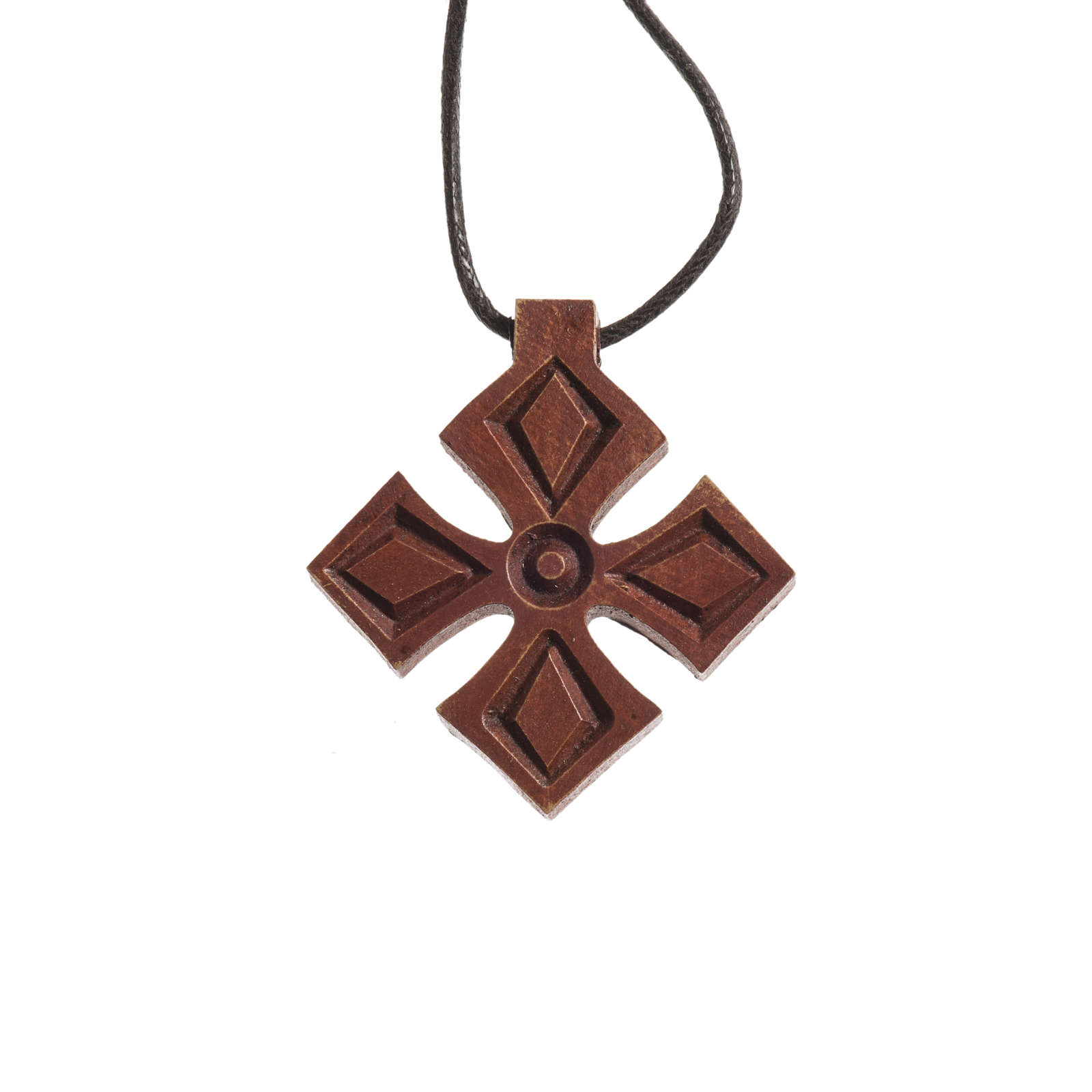 Croce legno scuro Bethléem 4