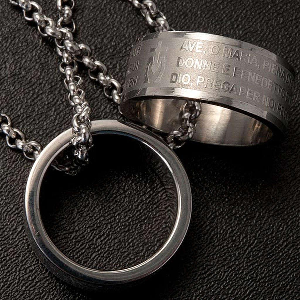 Colgante anillo oración 4