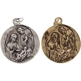 Medalla Natividad en zamak s1