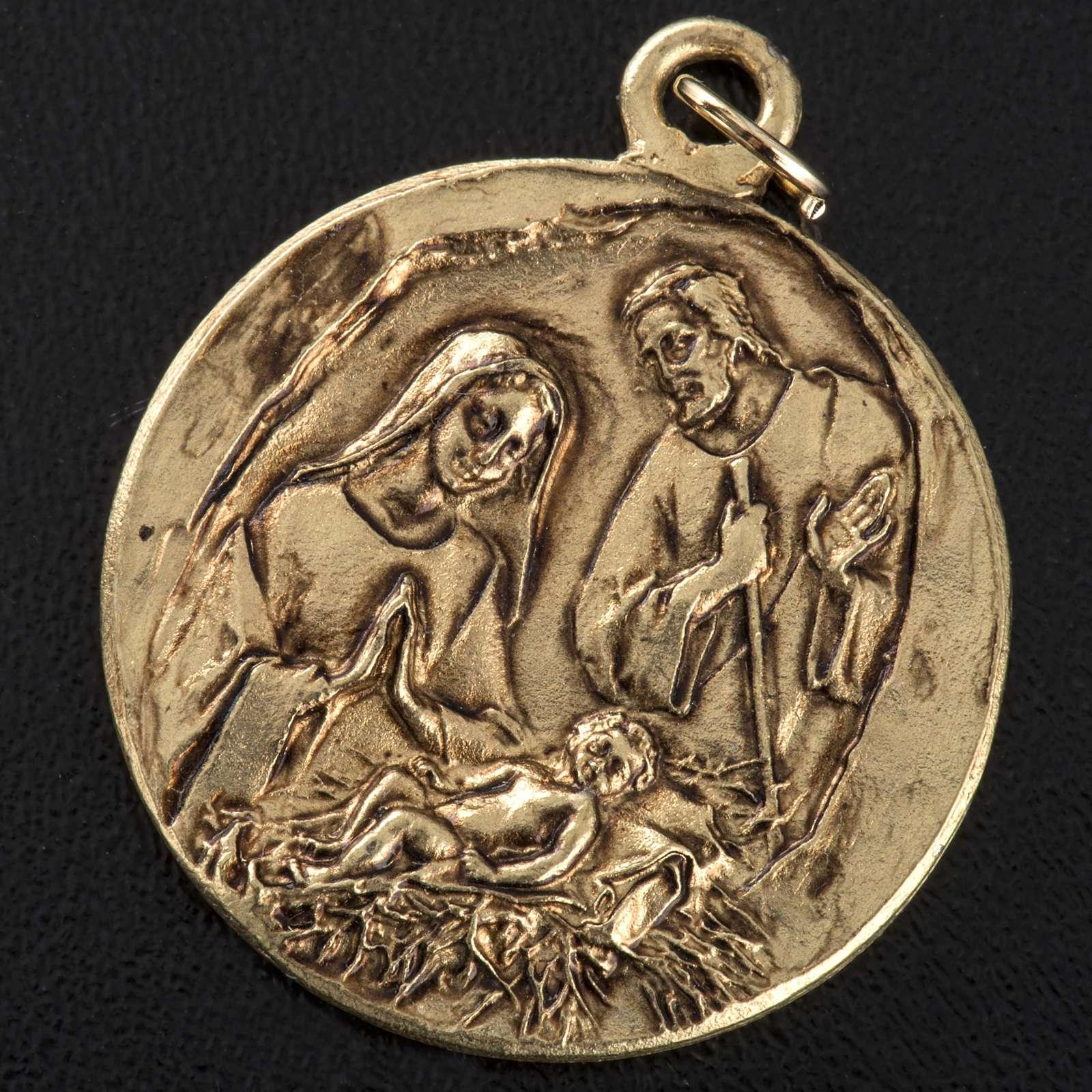 Nativity medal in zamak 4