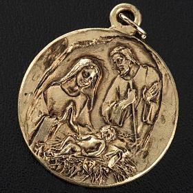 Nativity medal in zamak s2
