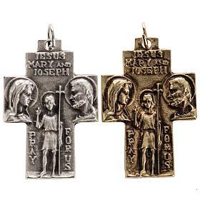 Holy Family pendant cross s1