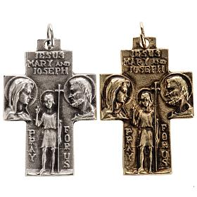 Pingentes Vários: Pingente cruz Sagrada Família