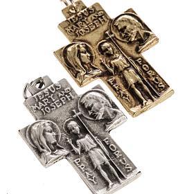 Holy Family pendant cross s2