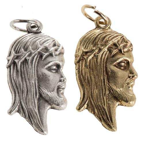 Face of Christ pendant 1