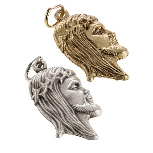 Face of Christ pendant 2