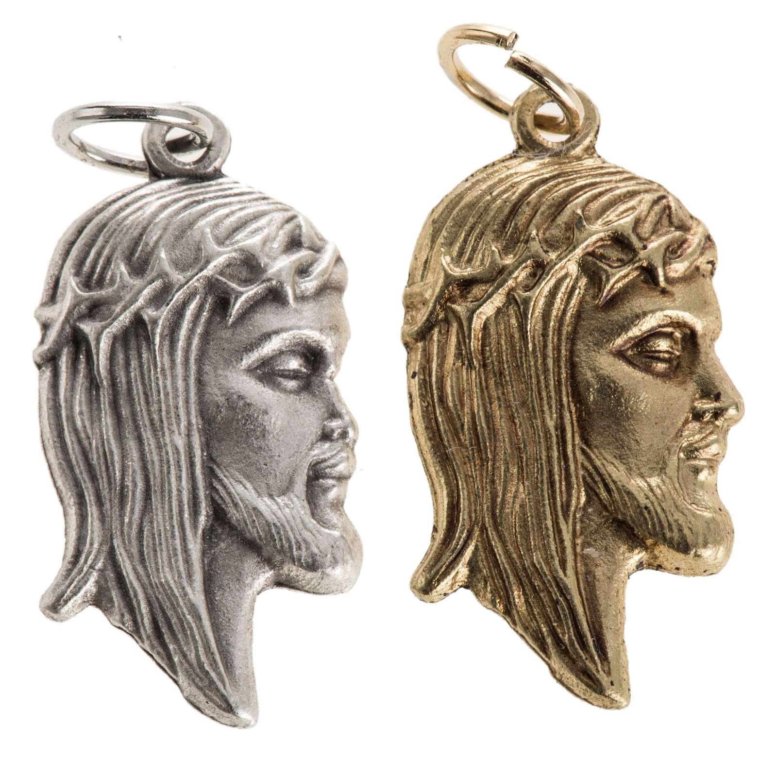 Colgante rostro de Jesús 4