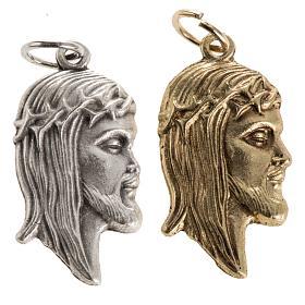 Medallas: Colgante rostro de Jesús