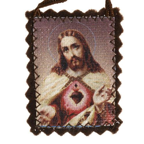 Scapulaire traditionnel en tissu 2