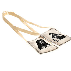 Scapular, black with embroideries s2