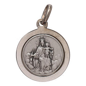 Scapolare argento 925 mis. 16 mm bordata s1