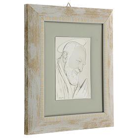 Padre Pio de Pietralcina en argent s4