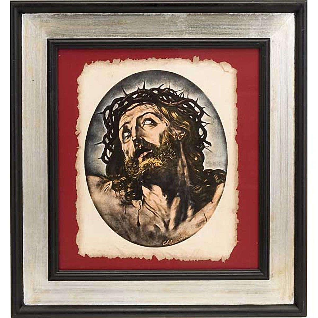 Rostro de Cristo estampa florentina 3