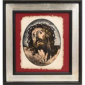 Rostro de Cristo estampa florentina s1