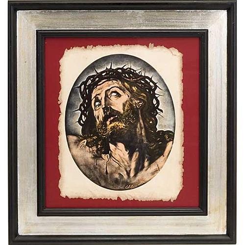Rostro de Cristo estampa florentina 1
