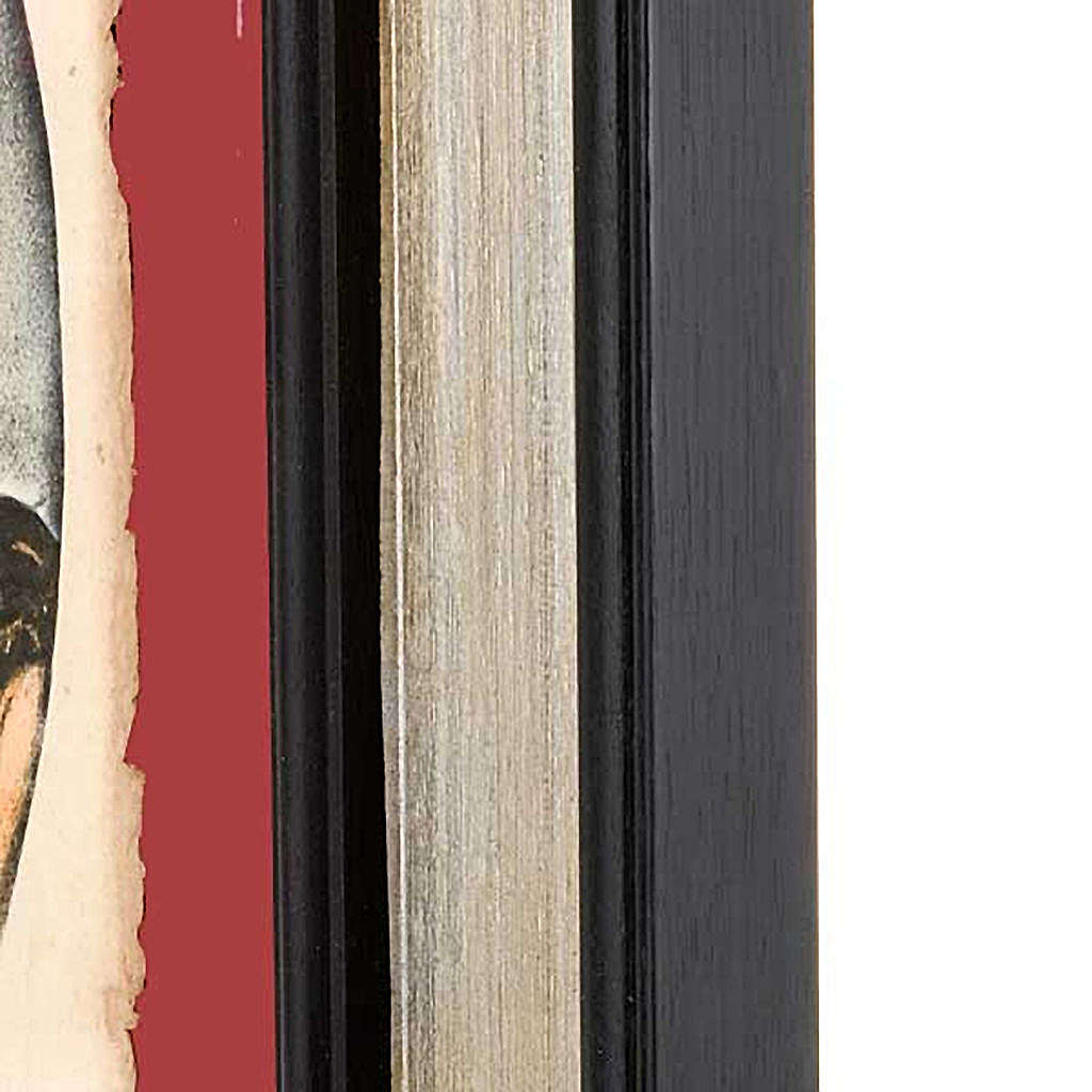 Christ face, Florentine print 3