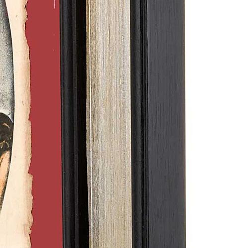 Christ face, Florentine print 4