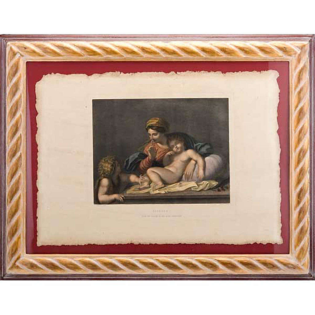 Madonna of the silence, Florentine print 3