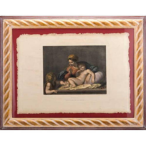 Madonna of the silence, Florentine print 1