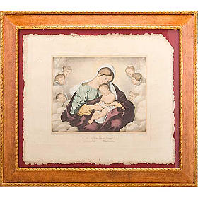 Madonna of the angels, Florentine print s1