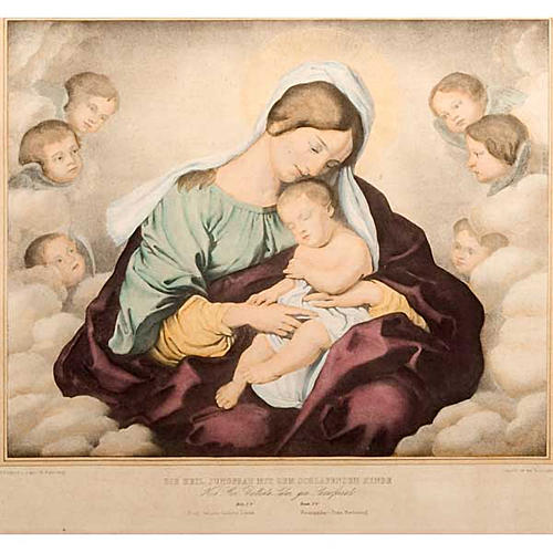 Madonna of the angels, Florentine print 4