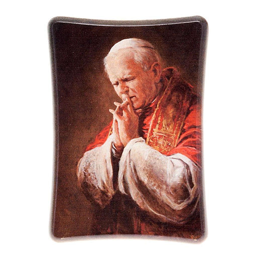 Giovanni paolo II in preghiera da tavolo 3