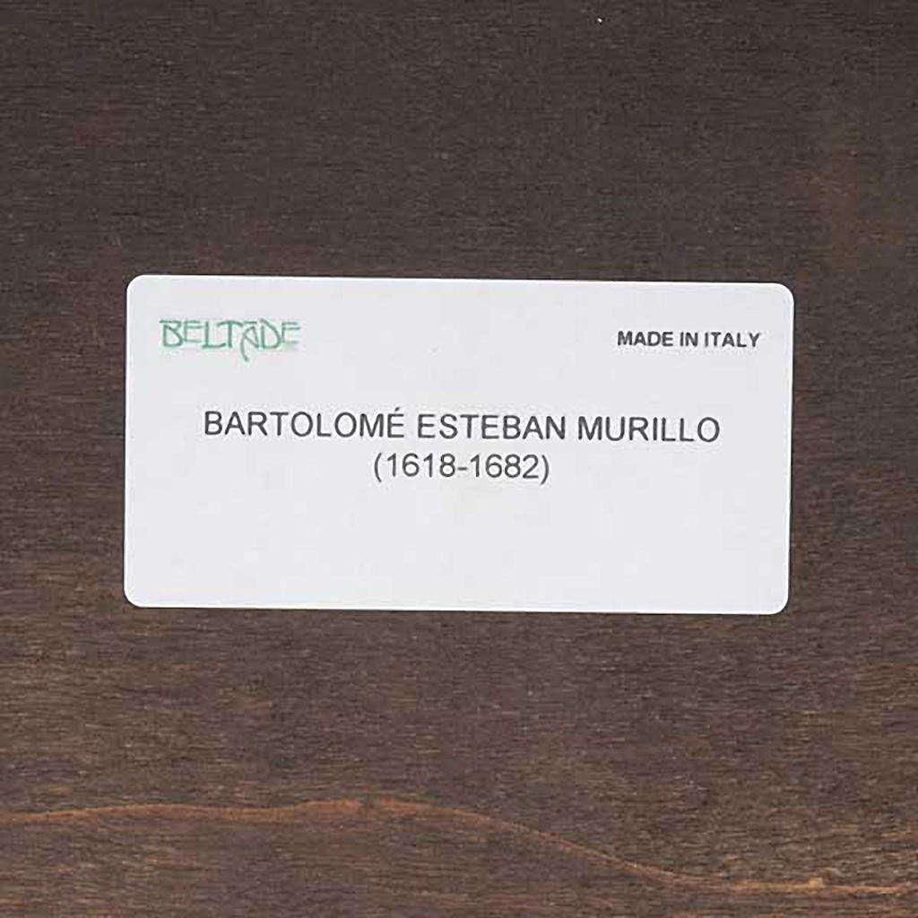 Stampa legno Angelo Custode del Murillo 3